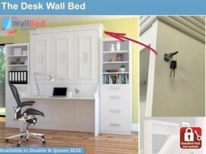 The Desk Wall Bed - Double