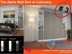 Alpha Flat Pack with Cabinetry Single
