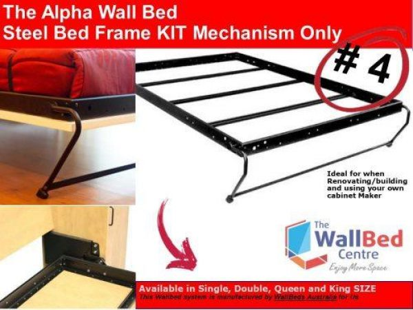 The Alpha Bed Steel Frame - Single