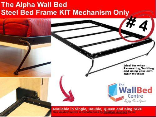 2 AlphaBed Steel Bed Frame Mechanism ONLY Products Picture