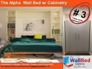 Alpha Flat Pack with Cabinetry King