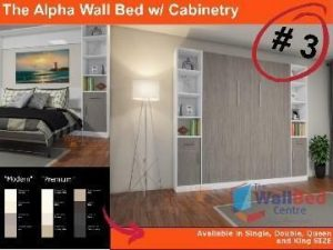 Alpha Flat Pack with Cabinetry Queen