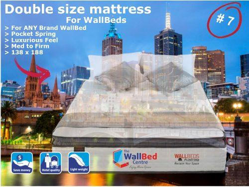 Double Size 2019 Mattress for WallBeds from www.thewallbedcentre.com.au