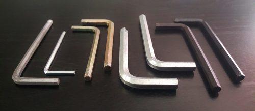 Hexagon Allen Wrench Tools Fixing Allen Key