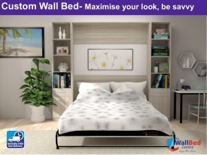 Custom Wall Bed (King)