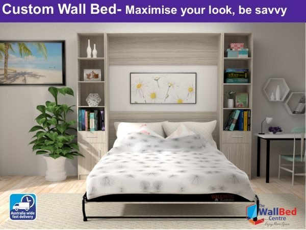 Custom Wall beds Queen